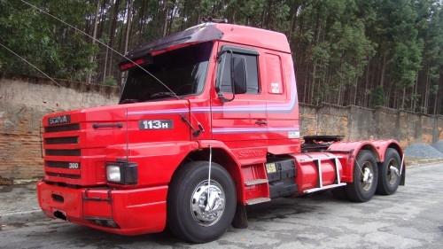 Fotos De Scania 113 Top Line Trucada Em S  O Paulo
