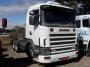 Scania R 124 400 - 02/02 - Branco - 6x2