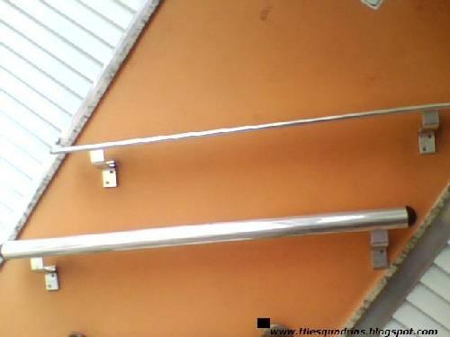 Fotos de Corrimão de alumínio de r$ 68,90 por r$ 48,23m² veja aqui 3