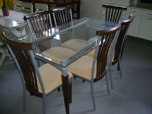 moveis usados brecho mesa de vidro