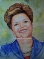 Desenhos e pinturas de retratos artísticos