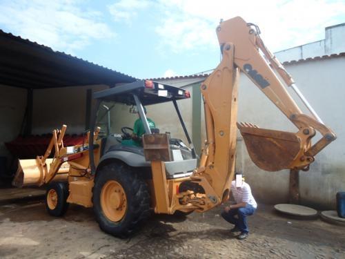 Fotos de Retro escavadeira case 580m 4