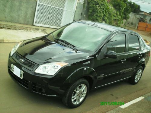 Fotos de Fiesta sedan 1.6 class 2009/2009 preto- com banco de couro 2
