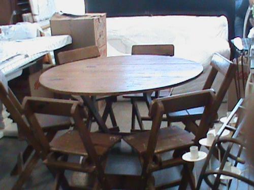 Gabinete para banheiro cadeiras de madeira usadas for Mesas para restaurante usadas