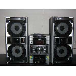Mini system sony genezi mhc-gtx77 3 discos 600w rms