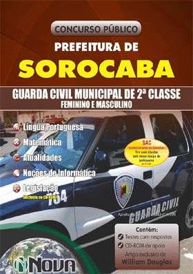 Apostila para guarda municipal de sorocaba - concurso prefeitura de sorocaba
