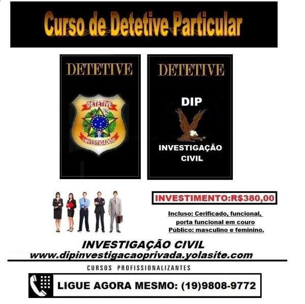Curso de detetive gratis