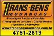 Trans Bens Mudanças Tel.  47512619 / 974305653  mudanças com desmontagem montagem e embalagens