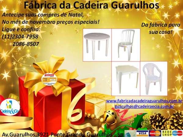 Fotos de Cadeira e mesas de plástico direto da fábrica! 2