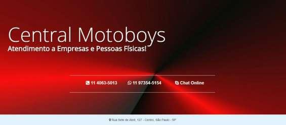 Motoboys fretes ccr