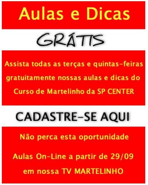 Brasileiros que moram em londes vem à sp center fazer curso de martelinho