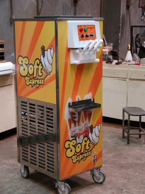 Maquina de sorvete expresso italiano