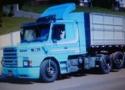 SCANIA T113 H 6X2 320 1996 AZUL