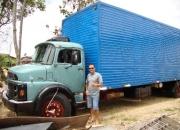 vendo caminhao MB 1114 truk baú ( filé ).