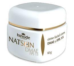 Creme hidratante facial nutritivo firmador dmae fps 15