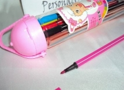Estojo de canetas hidrográficas 12 cores (tipo stabilo )