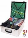 Maleta 600 Fichas Numeradas Para Poker