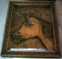 Placas entalhadas, Entalhe e escultura em madeira, santa cei