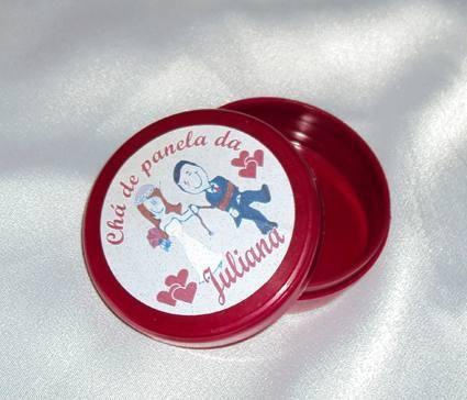 Potes plasticos personalizados aniversarios casamento cha