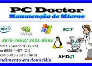 PC DOCTOR Manutenção de Computadores tel. 3876-7668