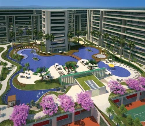 Park premium resort residence - cobertura 58,90 m²