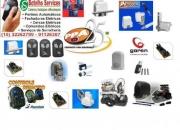 Motores para portões,cancelas, Controles, soldas em domicilio, serviços de serralheria.