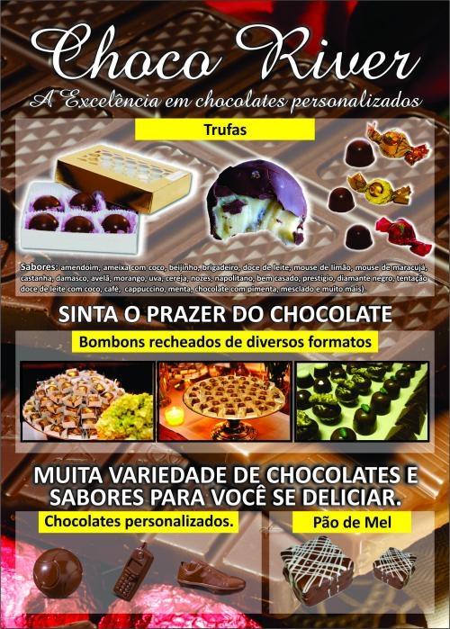 Chocoriver - a excelência em chocolates personalizados