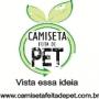 Camiseta Feita de PET e Ecobags