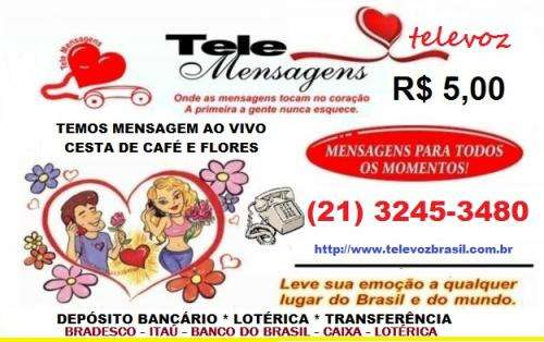 Mensagem ao vivo niterói 89 reais 3245-3480