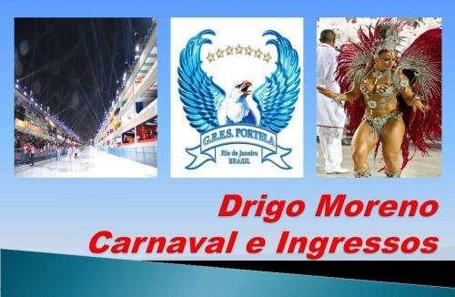 Vendo ingressos p/ carnaval 2012 desfile das escolas de samba do rio de janeiro