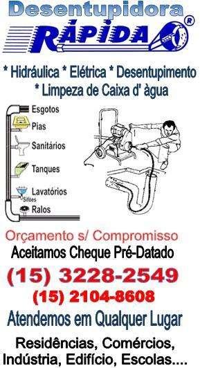 Fotos de A desentupidora rápida  e serviços em sorocaba e região 15- 3228-2549 1