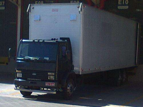 Ford Cargo Truck Bau 12 M 95 Cubicos Aceito Troca Em Cuiaba Venda