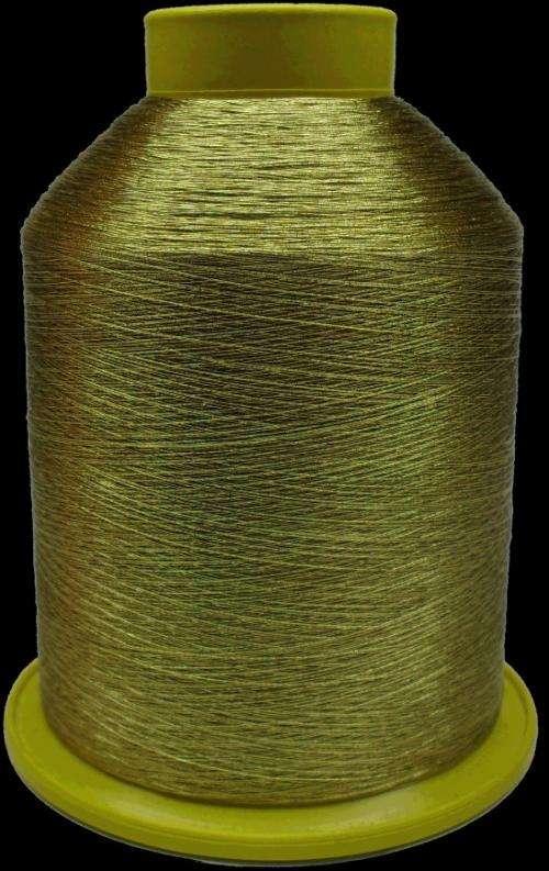 """Linha metalizada para bordar (linha metálica) """"lurex"""""""
