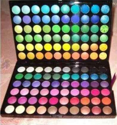 Paleta de sombras manly 120 cores ( pronta ntrega )