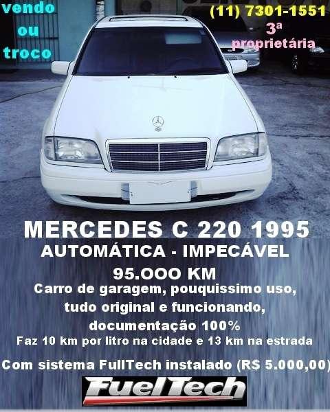 Mercedes linda, terceira dona - vendo ou troco