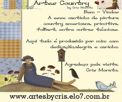 Atelier artes country - pintura country