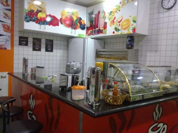 Cafeteria bem montada dentro de academia alto padrão