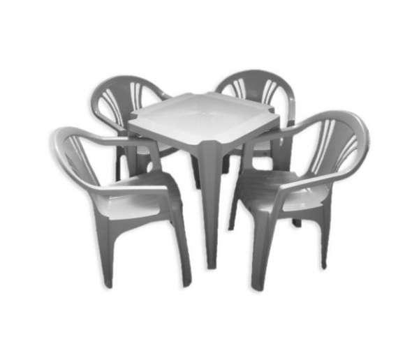 Fotos de Cadeira e mesas de plástico direto da fábrica! 4
