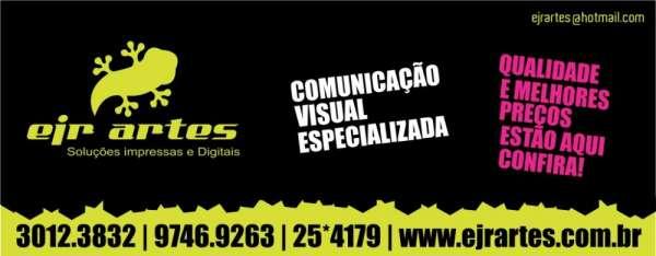 Serviços gráficos - ejr artes - comunicação visual