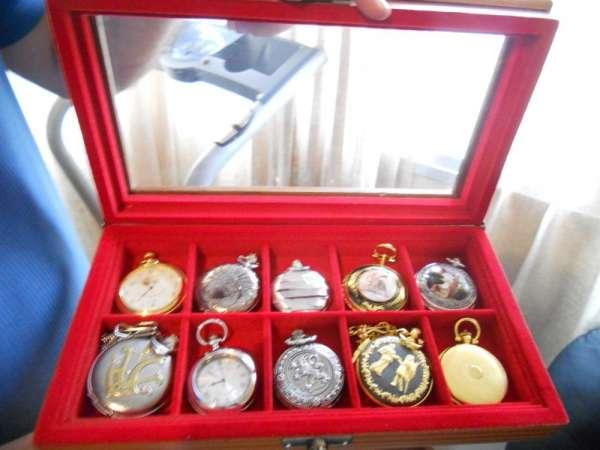 Estojo porta jóias, relógios, canetas e óculos (11)39661702