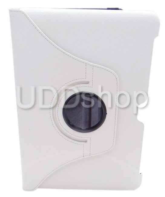 Capa giratória 360 branca tablet samsung galaxy tab2 10.1 p5100, p5110, p5113, p7500 ou p7510