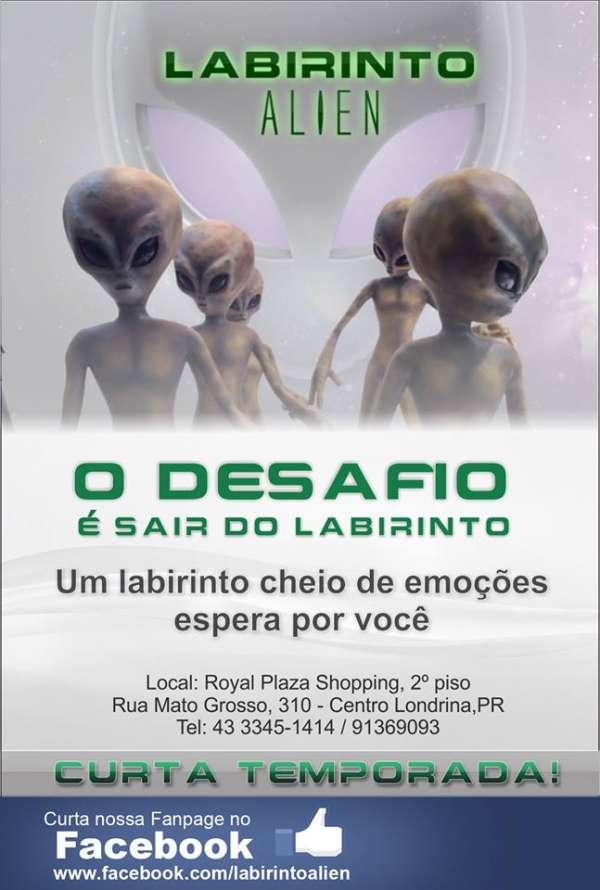 Labirinto alien em londrina