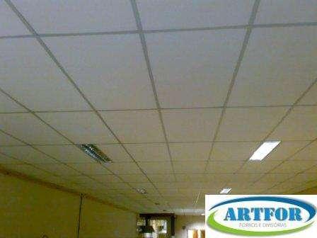 Artfor ltda forro isopor, forro gesso, forro pvc, forro mineral, forro lã vidro, luminárias