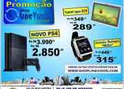 PS4, Tablets, Relógio Celular e muito mais na LINEVISION