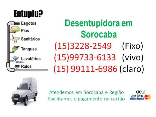 Desentupidora em sorocaba (15) 3228-2549 (15) 99733-6133 (15) 99111- 6986