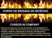 Cursos de Brigada de incêndio e CIPA