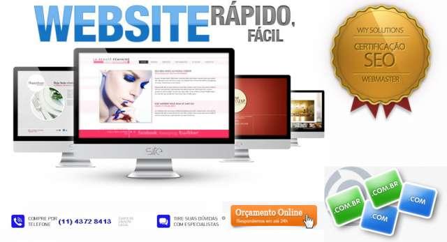 Criação de site profissional por r$ 49/mês