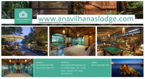 Hotel de selva amazônia | hotel de selva floresta amazônica | anavilhanas jungle lodge
