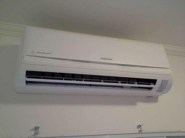 Venda instalação infraestrutura e instalação de ar condicionado