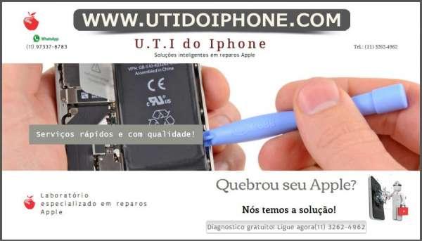 U.t.i do iphone - assistência técnica especializada